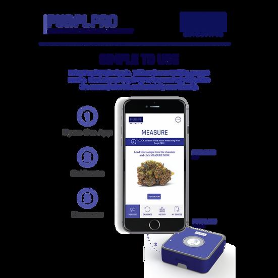 Purpl Scientific Purpl PRO Potency Measurement System