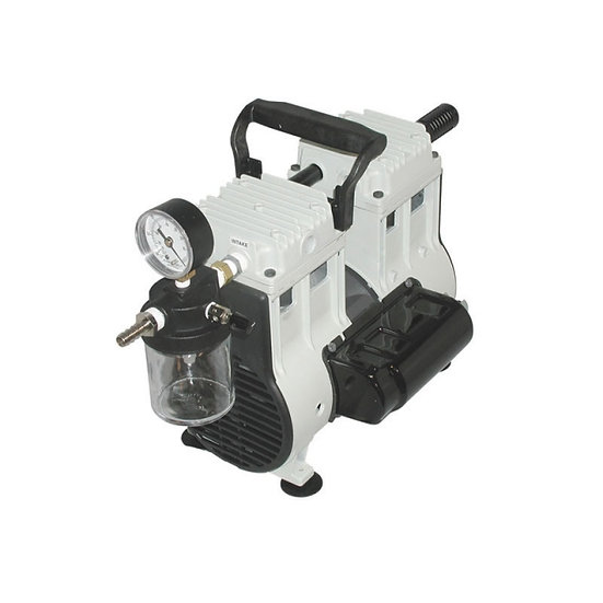 Welch Wob-L Dry Pump With Inlet Trap And Gauge, 230V 50Hz 1Ph, With Ce Mark