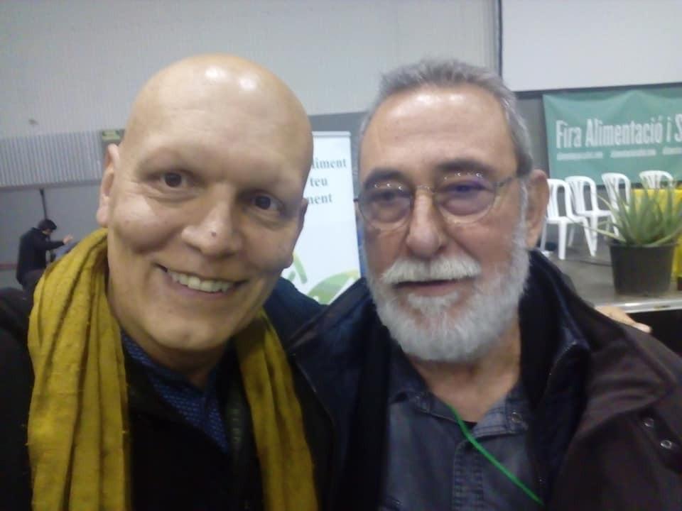 Con Máximo Sandín.