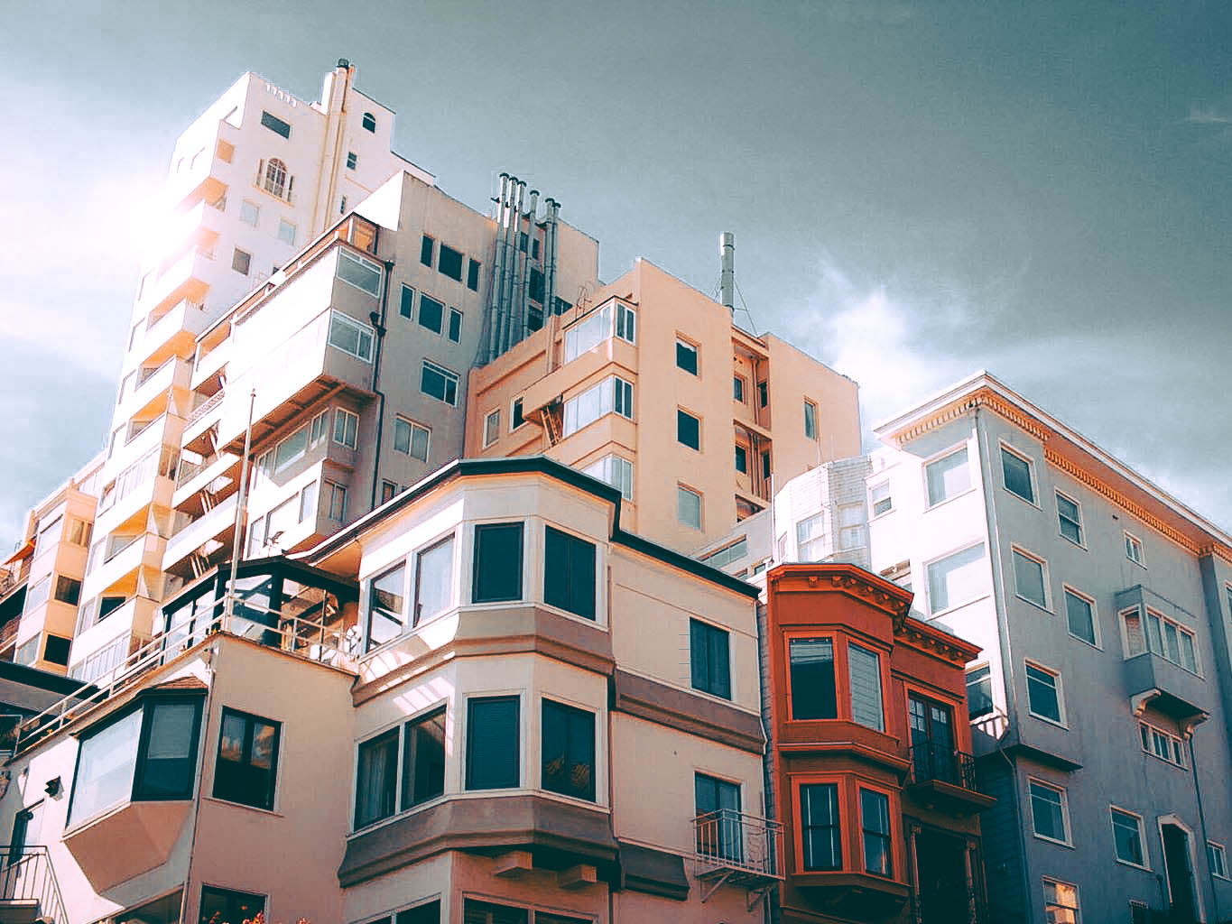Apartments on Lombard Street, SF