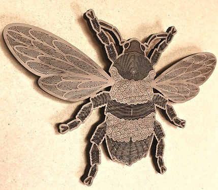 Solid Walnut Bee