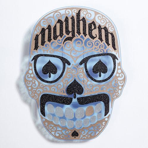 Mayhem Skull (Dia de los Muertos}