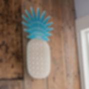 pineapple on darkwood wall.jpg