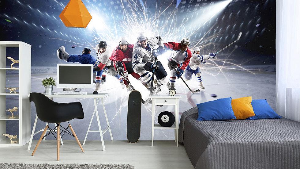 Murale 'Hockey 10'x8'