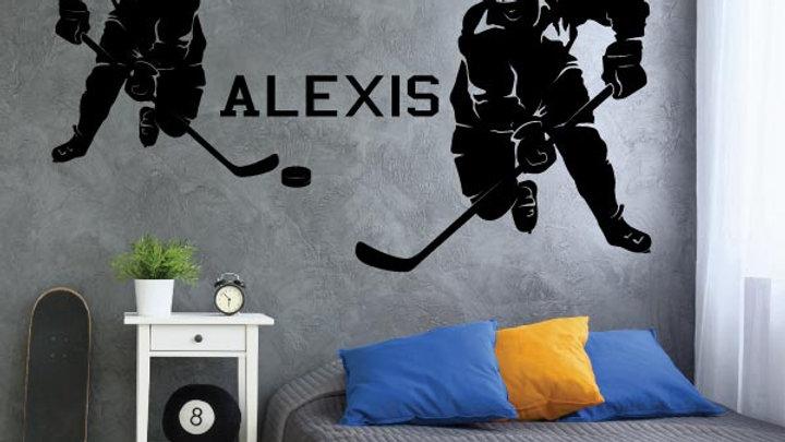 Joueurs de Hockey personnalisé