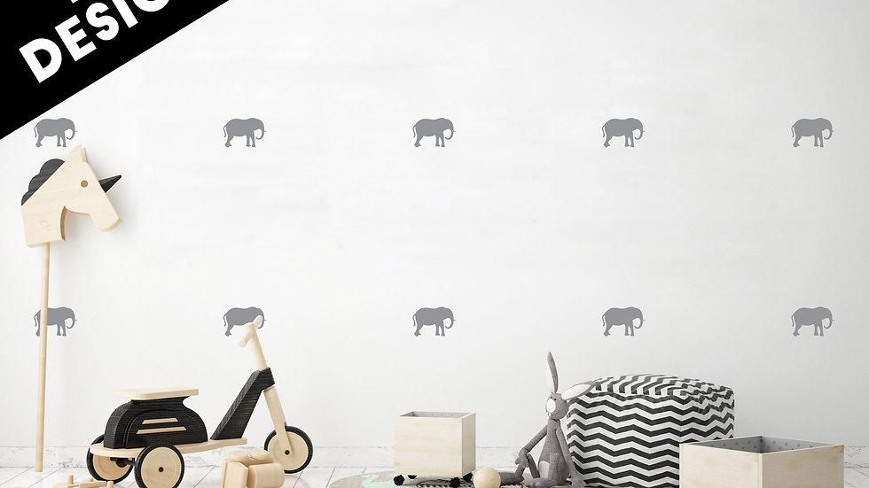 Motifs 'Les éléphants'