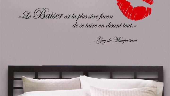 Citation 'Le Baiser'