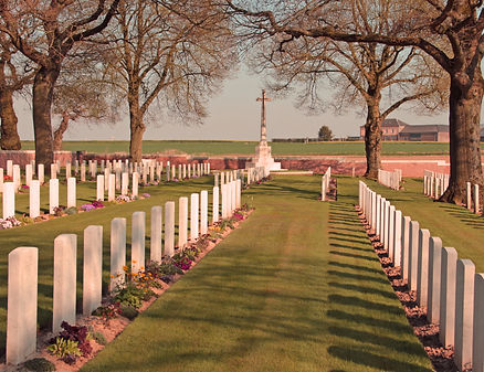 Sucrerie Military Cemetery Colincamps France