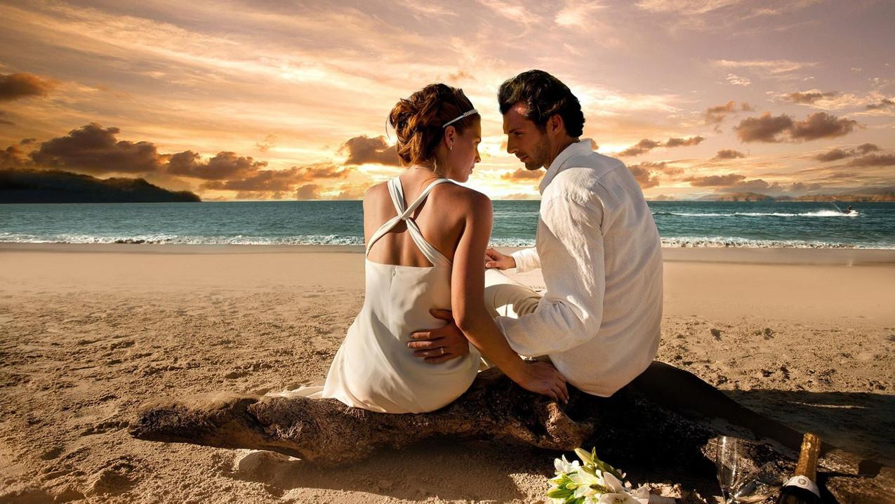 Romantic-Beach-Wedding-Photos-HD-Wallpap