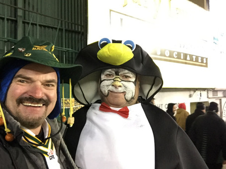 It was cold but still lots of fun at the CFL Riders vs Esks game last night!