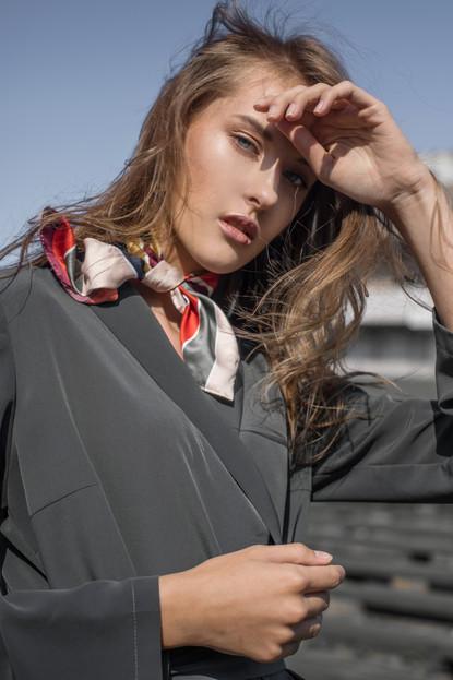 Model - Fausta Krivickaite, D-Max Model Management Dress - Pepper Me