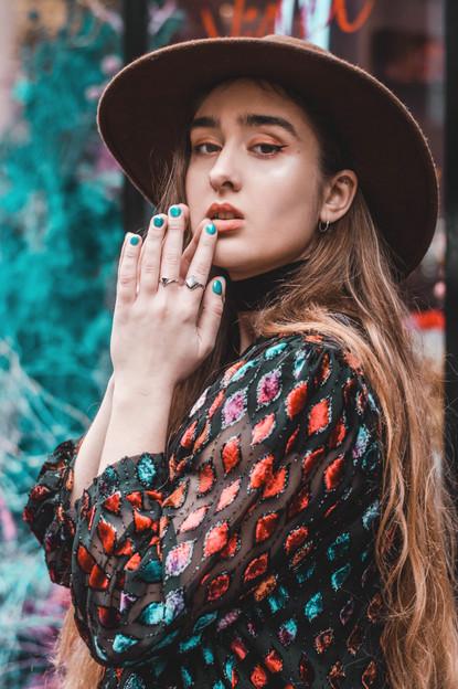London Fashion Week 2019 Model - Aleksandra Samokis