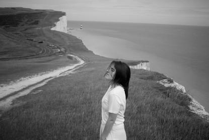 Seven Sisters Cliffs with Anastasija, 2020