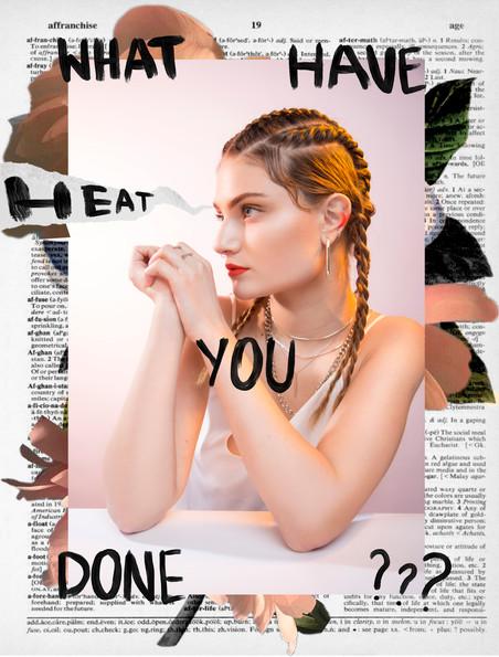 Sun, heat, distraction - beauty editorial