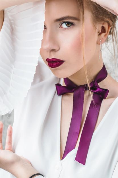 Model - Guste Bogdanovaite, D-Max Management Mua + hair - Silvija