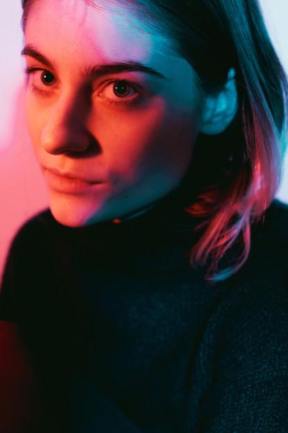 Nocturne, photo series  Model - Anna Roubickova