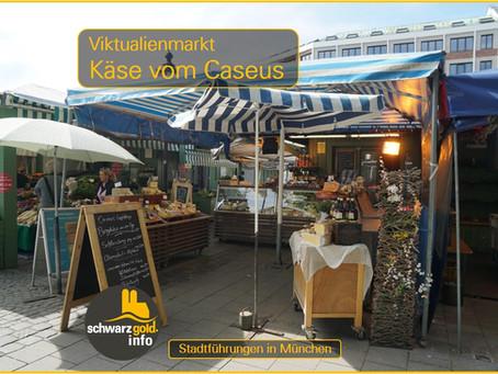 Viktualienmarkt in München das Einkaufsparadies für Lebensmittel