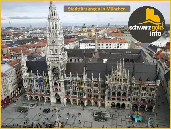 Altstadt Stadtführung München - Neues Rathaus