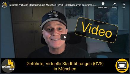 Erlklärvideo für virtuelle Stadtführungen in München