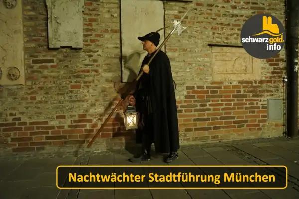 Nachtwächter Stadtführung München - Wolfram bewacht die Stadt