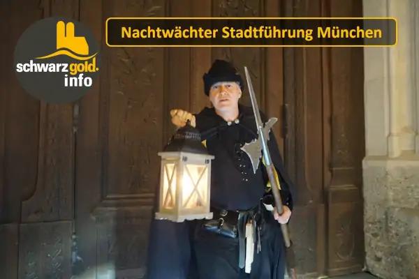Nachtwächter Stadtführung München - Frauenkirche