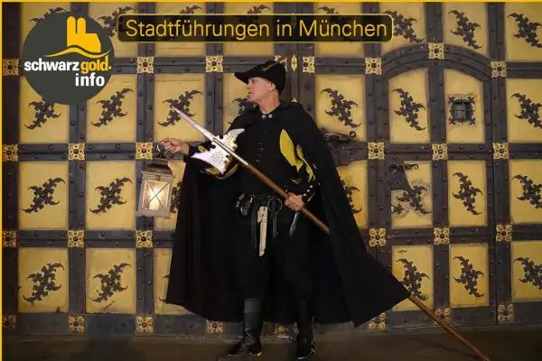 Nachtwächter Stadtführung München - Wolfram am Stadttor