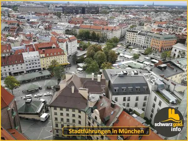 Altstadt Stadtführung München - Viktualienmarkt