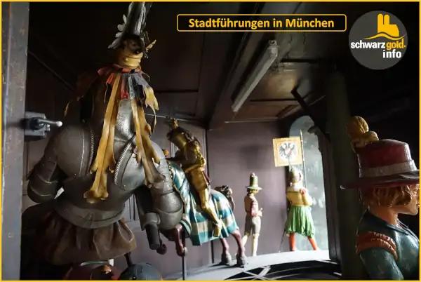 Altstadt Stadtführung München - Glockenspiel