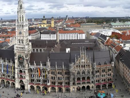 Tolle Aussicht über München - Alter Peter