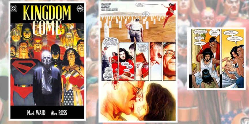 Romance de Superman e Mulher-Maravilha 1996