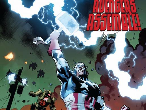 Jornada do Capitão América com Mjolnir