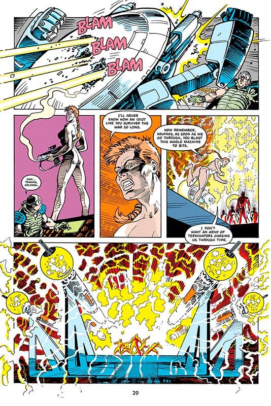 Terminator Tempestade HQ - Coronel Mary Randall