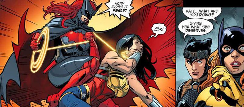 Mulher-Maravilha vs Batwoman