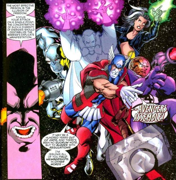 Híbrido de Thor e Capitão América