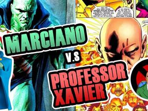Marciando vs Professor Xavier | Fusi Kombat