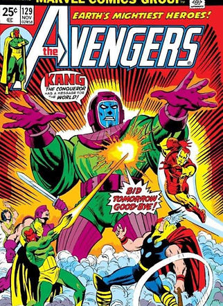 Capa Avengers vs Kang