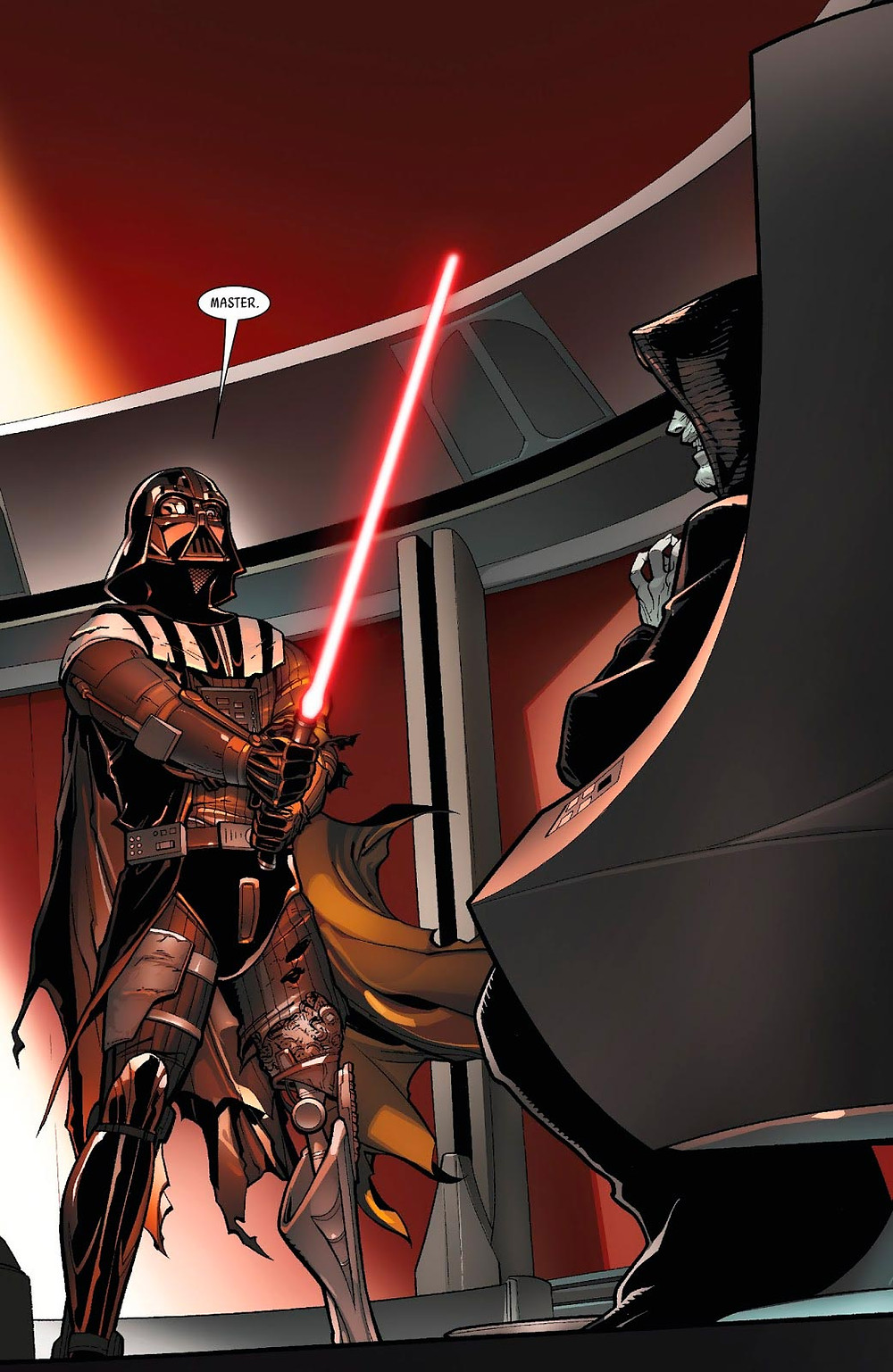Darth Vader se torna Sith