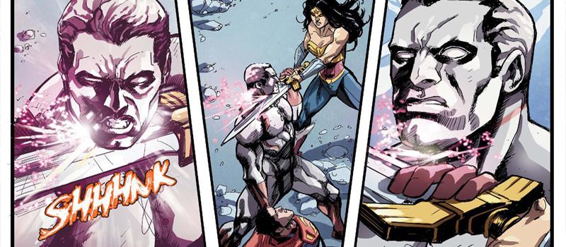 Mulher-Maravilha vs Capitão Átomo
