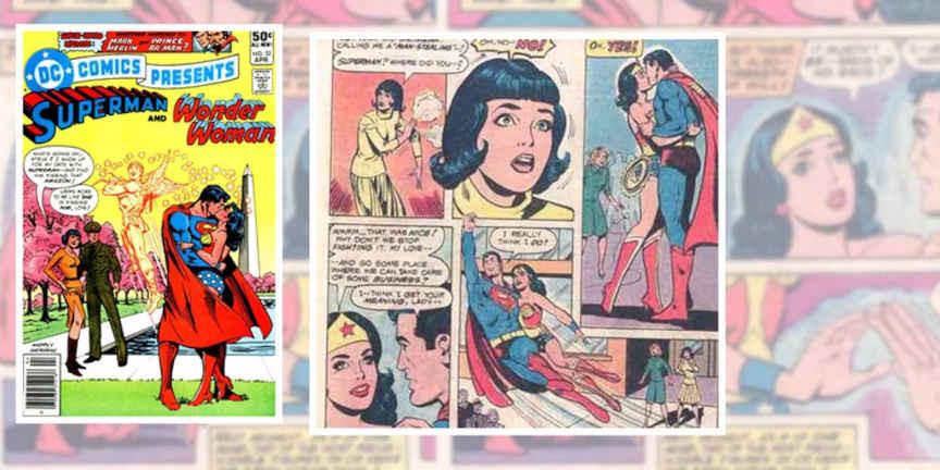 Romance de Superman e Mulher-Maravilha 1981