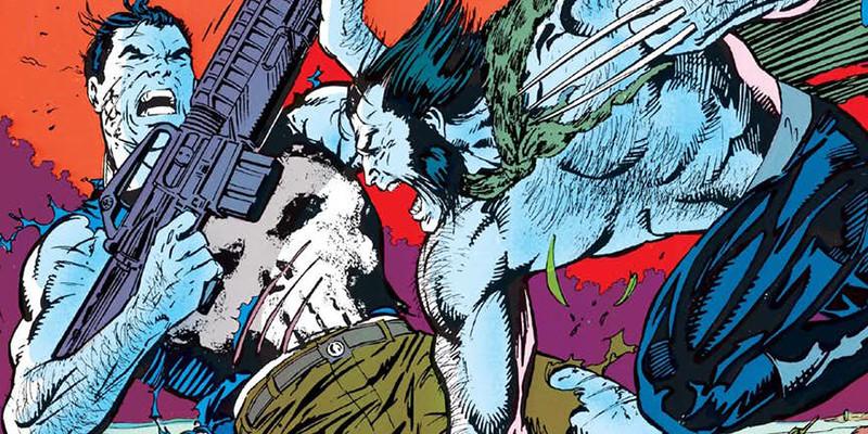 Justiceiro vs Wolverine