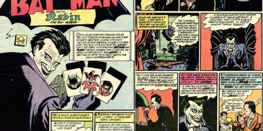 Coringa - número 1 Batman - 1940
