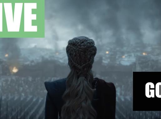 LIVE - GOT End Game - Teorias e bate papo sobre o fim de Got