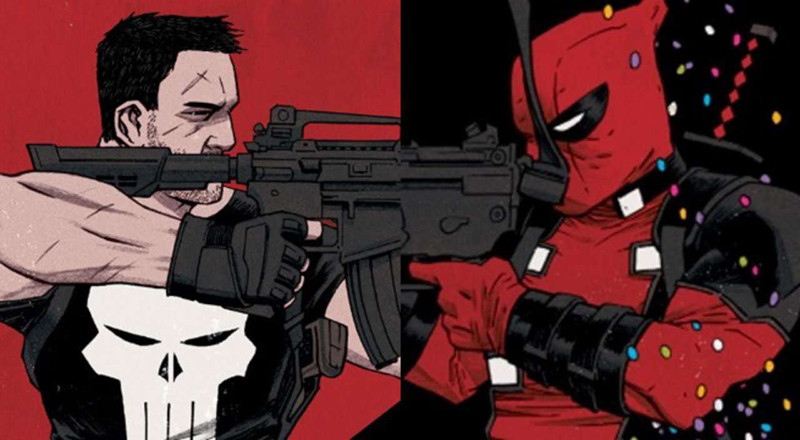 Justiceiro vs Deadpool