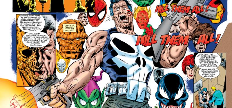 Justiceiro vs Universo Marvel