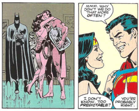 Romance de Superman e Mulher-Maravilha 1985
