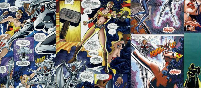 Mulher-Maravilha vs Tempestade