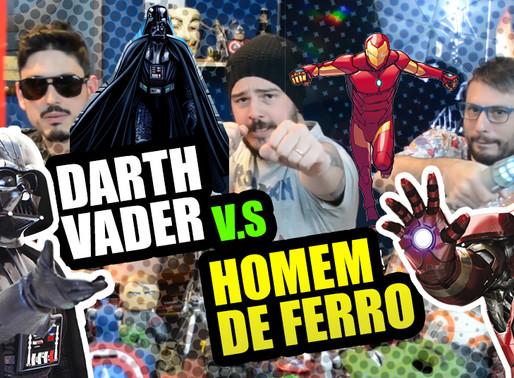 Darth Vader vs Homem de Ferro  Fusi Kombat