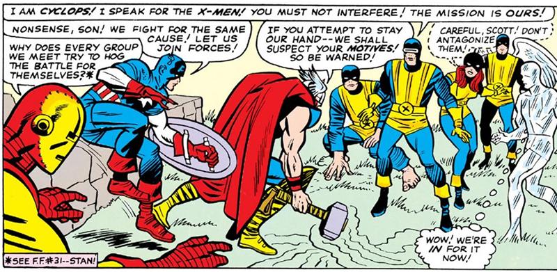 X-Men número 9