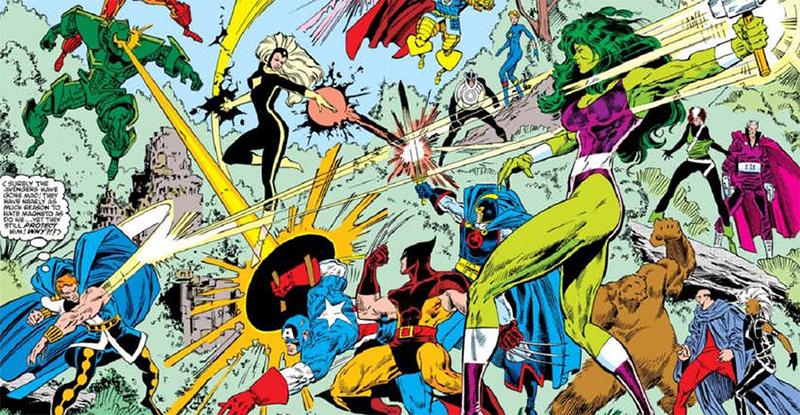 X-Men vs Vingadores 1987