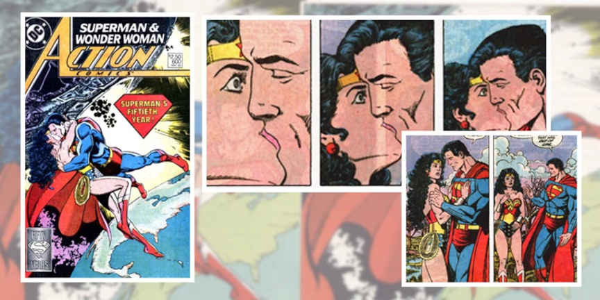 Romance de Superman e Mulher-Maravilha 1988